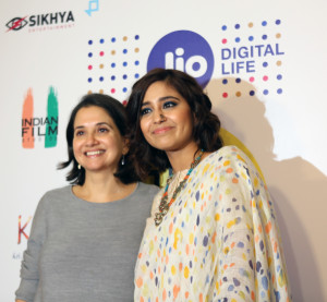 MUMBAI, (GNI): Jio MAMI with Star Festival Director Anupama Chopra with Shweta Tripathi at Jio MAMI Film Club with Star yesterday premiered HARAMKHOOR at PVR Icon, Versova, Mumbai.