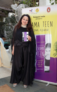Lina Ashar at the book launch of Drama Teen
