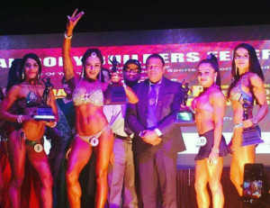 INDORE, (GNI): Shweta Rathore and others at National Body Building Championship- 2017,Indore on 19th February 2017 - PHOTO BY GNI