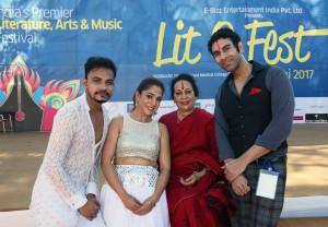 Neha Banerjee, Sonal Mansingh and Sandip Soparrkar