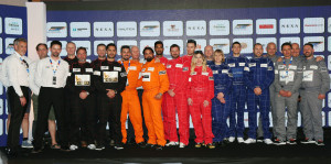 MUMBAI, (GNI): All the Pilots & Navigators of the NEXA P1 Powerbaot Evnet 2017 as Six Teams and the World's best Pilots for Inaugural NEXA P1 Powerboat, Indian Grand Prix of the Seas Unveiled, in Mumbai - photo by GNI
