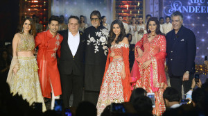 Celebrities walked the ramp at Fevicol Caring with Style, Suzanne Khan, ...