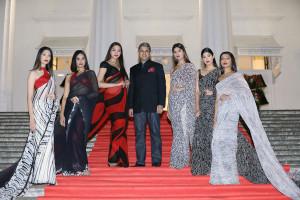 Sanjay Kapoor, Chairman, Gensis Luxury with Satya Paul models