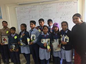 BSE Institute holding financial markets sessions at Dr Rajendra Prasad government school, Rashtrapati Bhavan estate, New Delhi