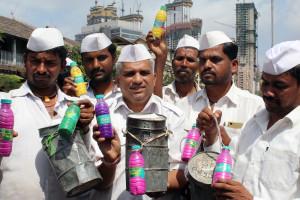 Bisleri associates with Mumbai Dabbawala to encourage waterless Holi