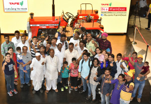 TAFE's FarmDosts interacting with farmers in Mumbai