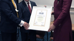 World Book of Records England honours Sandip Soparrkar in London for his contribution in the field of Dance