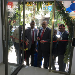 MUMBAI, (GNI): S. S. Mundra, Deputy Governor, RBI(C) along with Chandra Shekhar Ghosh, MD & CEO, Bandhan Bank Ltd (L)  at the inauguration of Bandhan Bank's new branch at Nariman Point, in Mumbai -photo by GNI