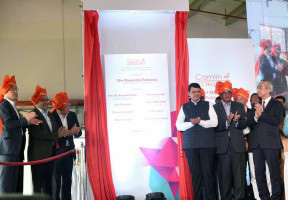 MUMBAI, (GNI): New plant launch of Kokuyo Camlin in Patalaganga. Honorable Chief Minister of Maharashtra, Shri Devendra Fadnavis inaugurated the plant on April 28th, 2017.