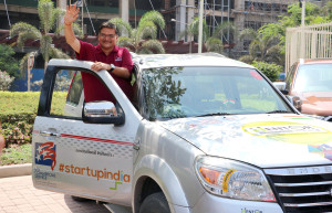 "MUMBAI, (GNI): Ahmedabad-based Indian management consultant Jagat Shah jointly launched the ""Mentor on Road – United States"" initiative in Mumbai - Photo by GNI"