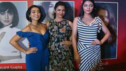 MUMBAI, (GNI): L-R - Sayani Gupta, Shriya Pilgaonkar, Ruhi Singh at the Jury Meet of The 13th Annual Gemfields Retail Jeweller India Awards 2017 in Mumbazi - Photo by Sumant Gajinkar