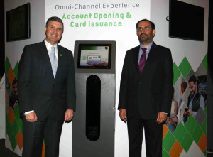 MUMBAI, (GNI): Mr. Joao Perez, Senior Vice President & General Manager, Global Markets, NCR Corporation and Mr. Navroze Dastur, Managing Director, NCRCorporation India at the event, unveiled its suite of integrated CxBanking solutions to help financial institutions (FIs) in India, in Mumbai - Photo by GNI