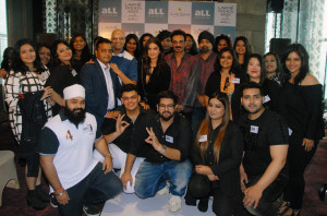 MUMBAI, (GNI): Winners with the Jury (Names in the release) of the LFW WF 17 and aLL's Plus Size Model Auditions in Mumbai - Photo by GNI