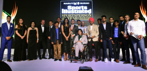 Winners at the Sportsperson Of The Year Awards 2017