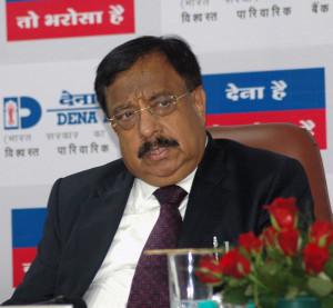 MUMBAI, (GNI): Ashwani Kumar, Chairman and Managing Director, Dena Bank, at the Dena Bank Press Conference to announce the Q1 FY 18 Results in Mumbau - Photo by Sumant Gajinkar