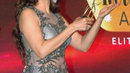 MUMBAI, (GNI): Actors Sangeeta Bijlani during the Gemfields Retail Jeweller India awards event in Mumbai on Saturday evening - Photo by Sumant Gajinkar