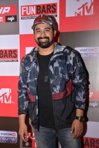 Rannvijay Singh at the launch party of FLYP@MTV Cafe, Kamala Mills, Lower Parel