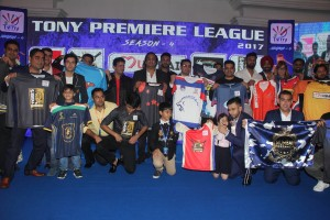 The TPL Team owners unveil the Jerseys