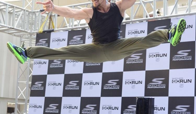 Tiger Shroff launches Skechers GoRun5