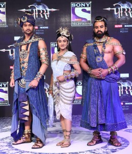 Aditya Redij as Bamani, Rati Pandey as Anusuiya, Aman Dhaliwal as Shiv Dutt in PORUS starting 27th Nov, Mon to Fri, 8.30pm