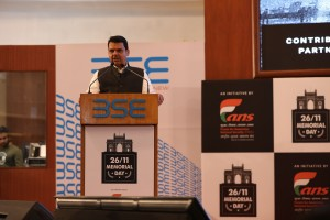 Hon'ble Chief Minister of Maharashtra, Shri. Devendra Fadnavis at 26-11 Memorial Day Event at BSE