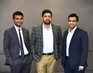 L - R Mr. Surya Ajay Agarwal (Director - Donear), Mr. Vikram Mahaldar (MD - OCM) & Mr. Rahul Rajendra Agarwal (Director - Donear)