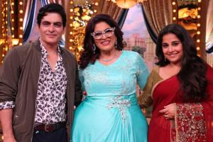 Manav Kaul, Auntyji, Archana Puran Singh & Vidya Bala (1)