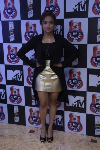 Monali Thakur at the launch of Royal Stag Bareel Select MTV Unplugged