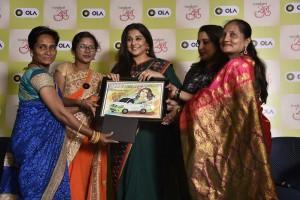 Ola women driver partners gift to Vidya Balan