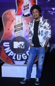 Papon at the launch of Royal Stag Bareel Select MTV Unplugged-1