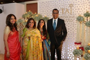 Rakhee Lalvani, Renu Basu, Rajshree Bakshi and Chinmai Sharma at the launch of Taj Wedding Studio