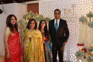 Rakhee Lalvani, Renu Basu, Rajshree Bakshi and Chinmai Sharma at the launch of Taj Wedding Studio