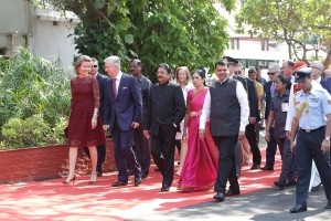 State Visit First Event - Call on the Governor of Maharastra (3)