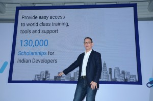 William Florance, Developer Products Group and Skilling Lead for India speaking about Google's Skilling initiative in India-1