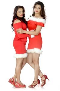 Ekta Jain and Shree Rajput Christmas Festival Photoshoot Pictures (18)