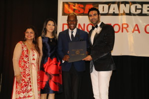 Honourable minister from USA Mr. Antonio Sabas, Mrs Megumi Sabas and Varsha Naik