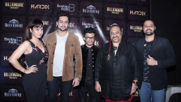 Kavitta Verma, Shaleen Bhanot, DJ Hardik, Lesle Lewis and Mudasir Ali at the Bombay Adda Billionaire Night at Bombay Adda, Bandra
