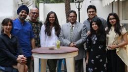 LFW ABM Panel (L-R) Nonita Kalra, Jaspreet Chandok, Narendra Kumar, Purnima Lamba, Dr. Darlie Koshy, Pradeep Hirani, Sangeeta Kathiwada, Mehernaz Dhondy