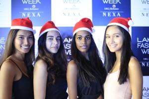 Winners of the Lakme Fashion Week Model Auditions Summer Resort 2018 from L to R Parul Shah, Muskaan Bisaria, Amrita Ganesh, Aradhana Buragohain (2)