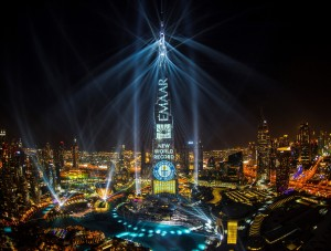 Emaar's 'Light Up 2018' spectacle clinches GUINNESS WORLD RECORDS title for the 'largest light and sound show on a single building' staged on Burj Khalifa