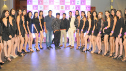 5. during the curtain raiser of MISS FAESINA INDIA 2018 with Contestant during the curtain raiser of MISS FAESINA INDIA 2018 DSC_5108
