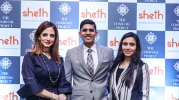 Renowned interior designer Sussanne Khan along with Maulik Sheth, Direct...