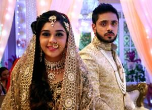 Eisha Singh(Zara) & Adnan Khan(Kabeer)