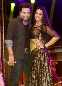 krushna abhishek & mugdha godse 1