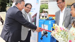 L to R- Mr Praveer Sinha, CEO & MD, TPCL along with Mr Manasvi Sharma, H...