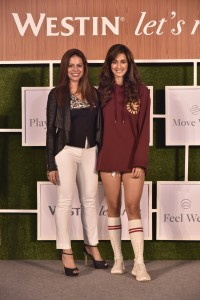 1528877142155_L-R- Khushooma Kapadia Area Director Marketing, Marriott International with Disha Patani, Westin Well-Being ambassador