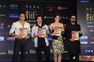 Bobby Deol, Varun Dhawan, Kriti Sanon and Ayushmann Khurrana