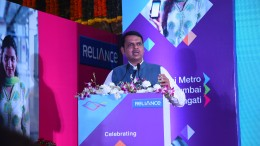 CM Devendra Fadnavis addressing at the Mumbai Metro One 4th anniversary