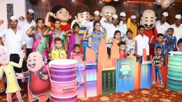 Father's Day_ with Nictoons_Mumbai dabbawalas and their kids 2