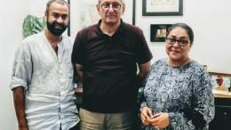 Madhu Mantena, Rakesh Maria & Meghna Gulzar.